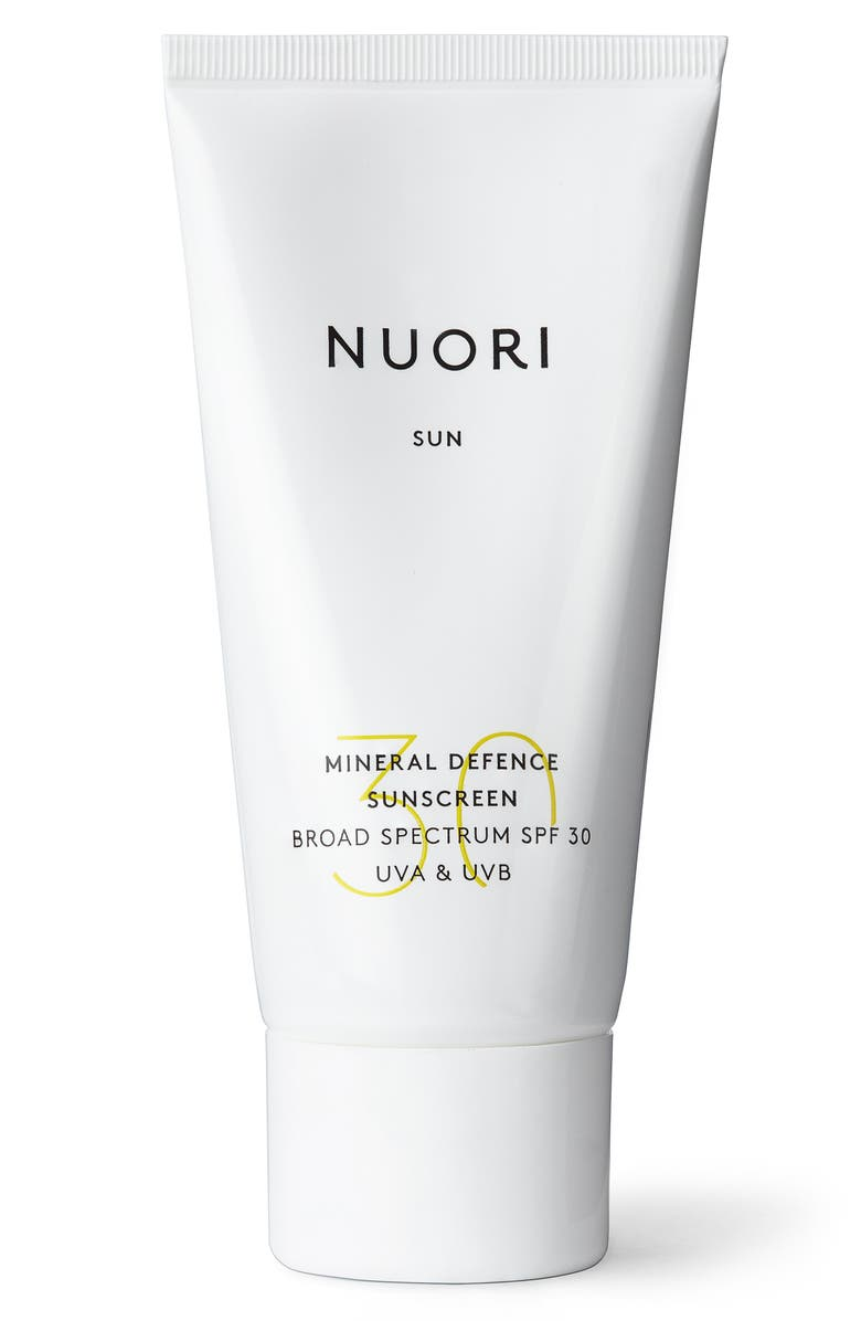 THE LIGHT SALON Mineral Defense Sunscreen SPF 30, Main, color, NO COLOR