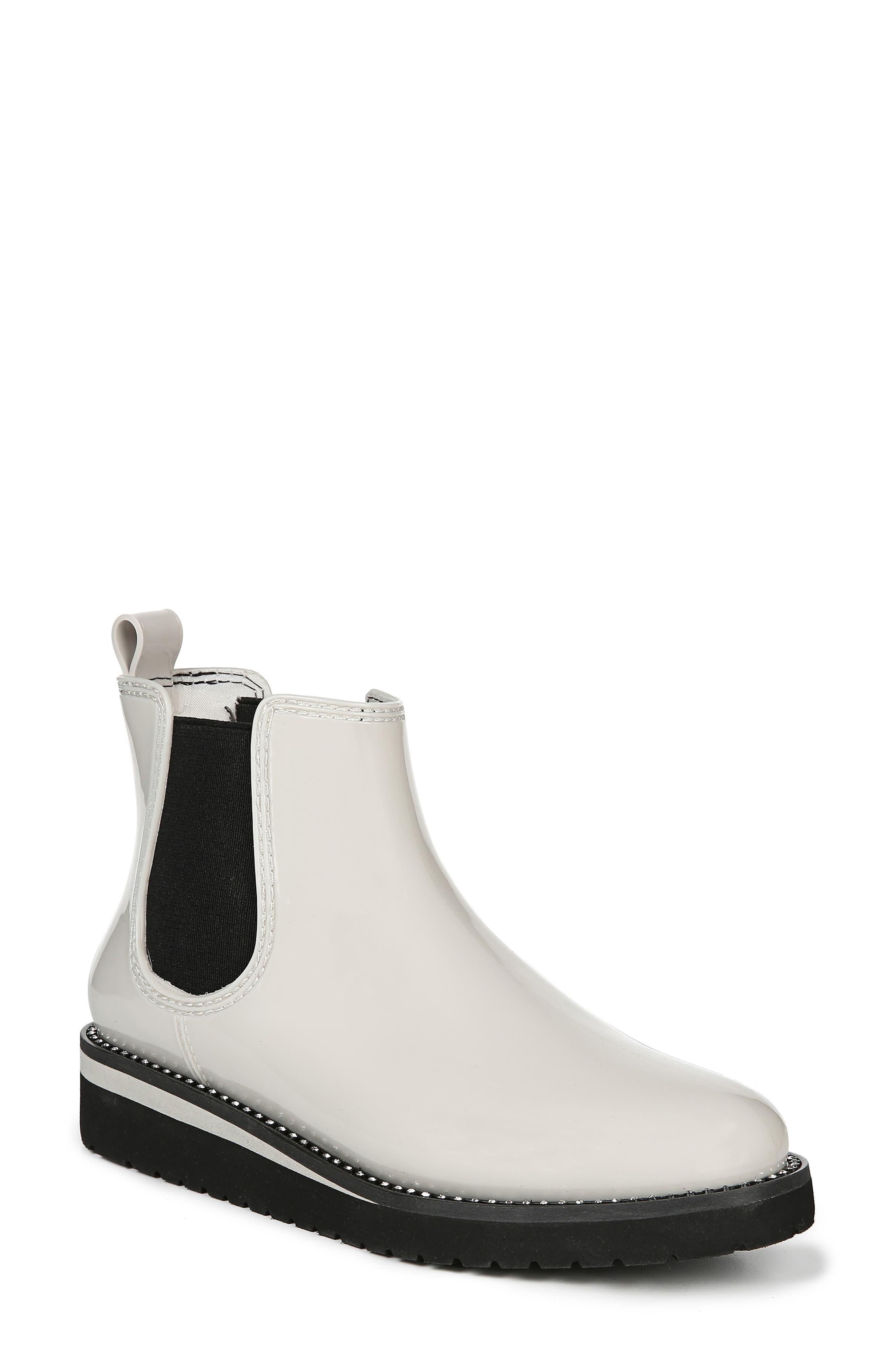 Luna Waterproof Chelsea Boot, Main, color, CREAM