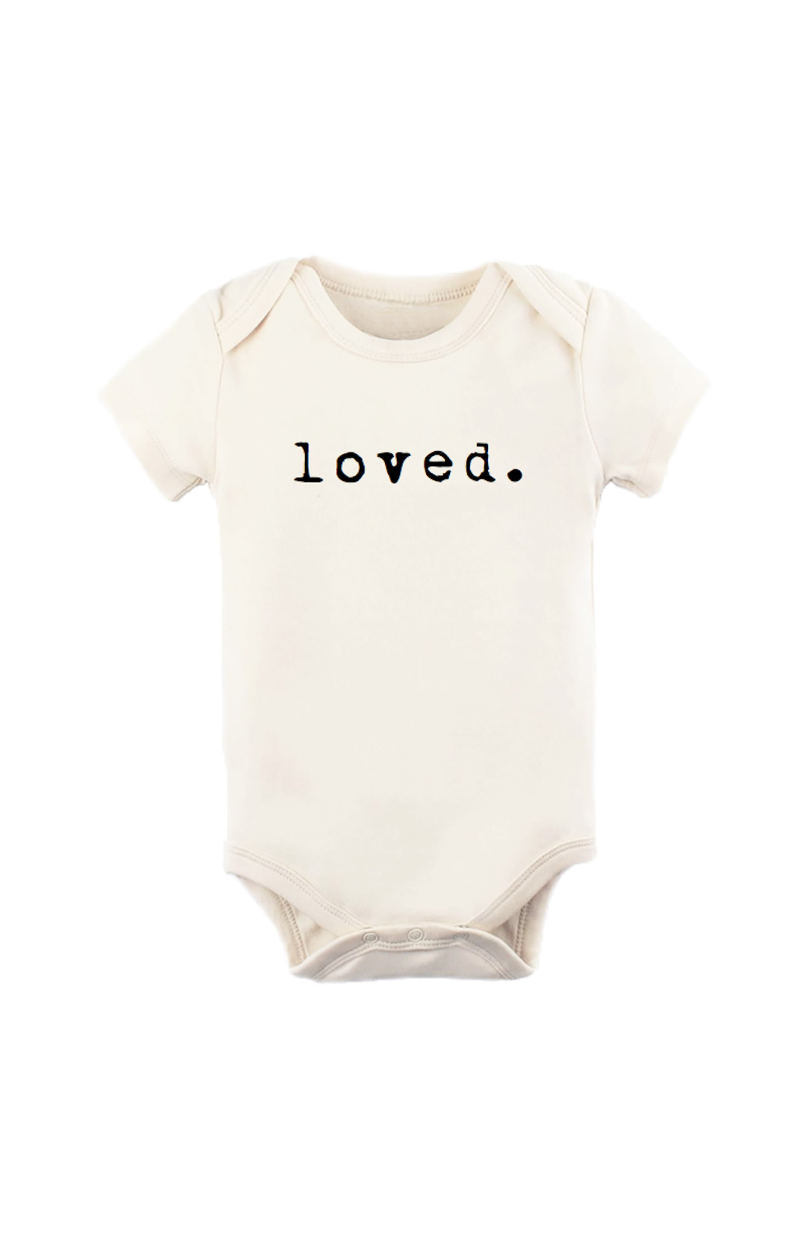 Loved Baby Newborn Outfit Trendy Baby Loved Gift For Baby Cute Baby Onesie Infant Onesie Loved Baby Baby Shower Gift Raglan Onesie