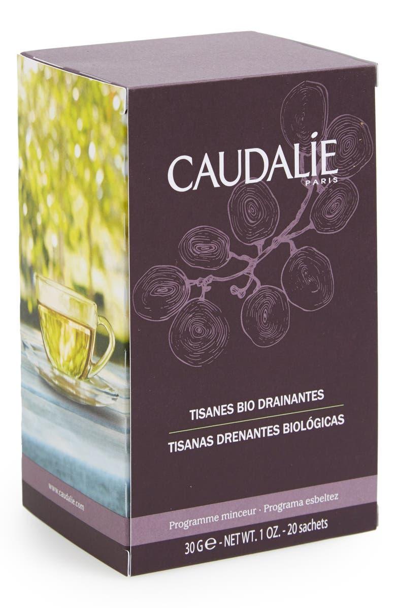 CAUDALÍE Draining Organic Herbal Teas, Main, color, 000