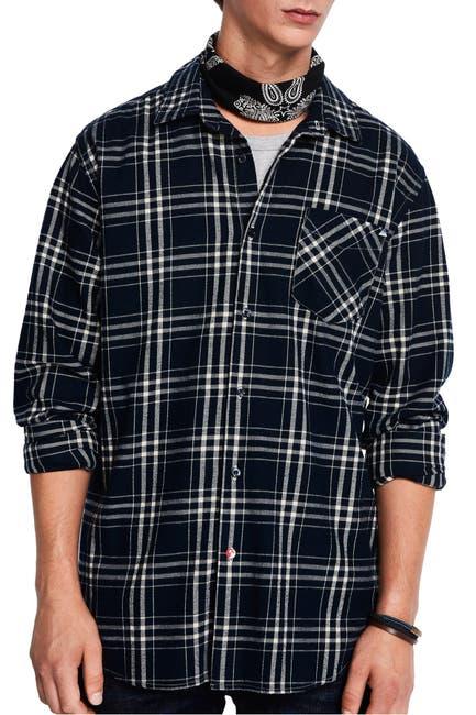 Image of Scotch & Soda Regular Fit Plaid Print Shirt