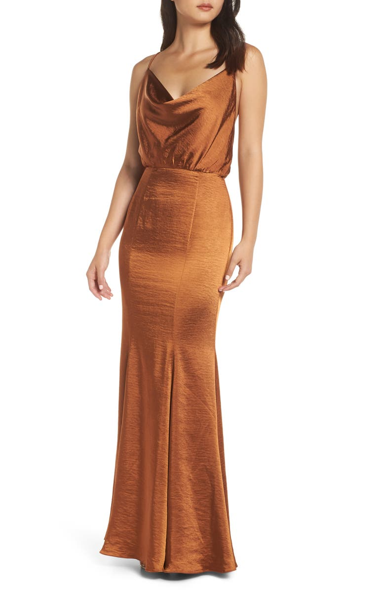 FAME AND PARTNERS The Theodora Gown, Main, color, 210