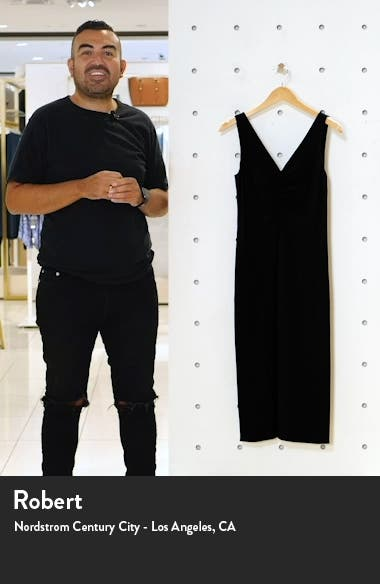Ruched Neck Sleeveless Dress, sales video thumbnail