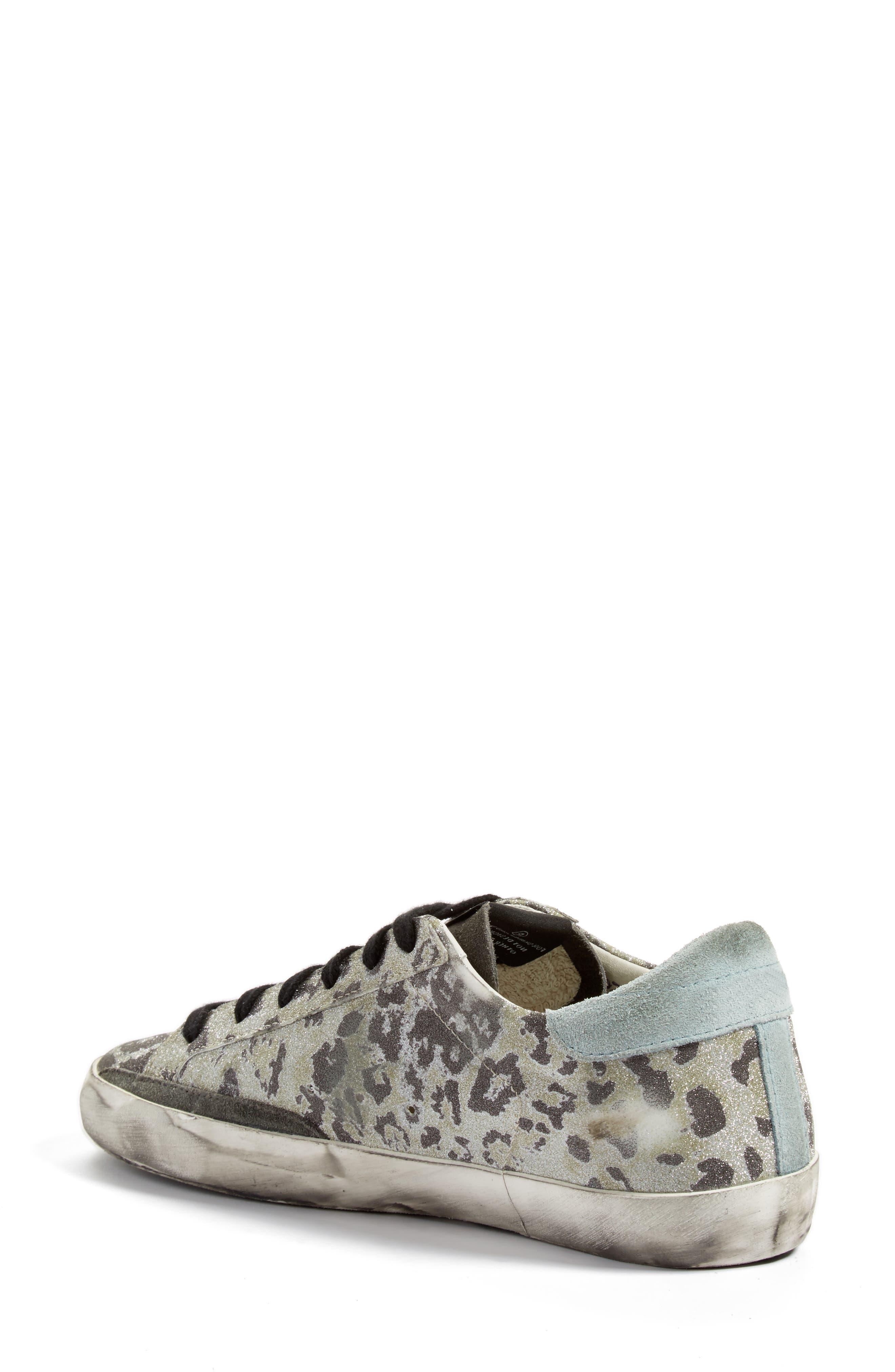 Golden Goose Cheetah Superstar Sneaker
