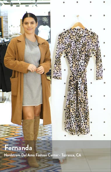 Odette Cover-Up Shirtdress, sales video thumbnail