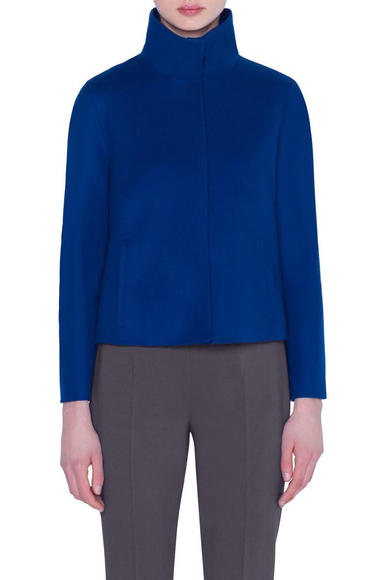 Akris Double Face Cashmere Jacket