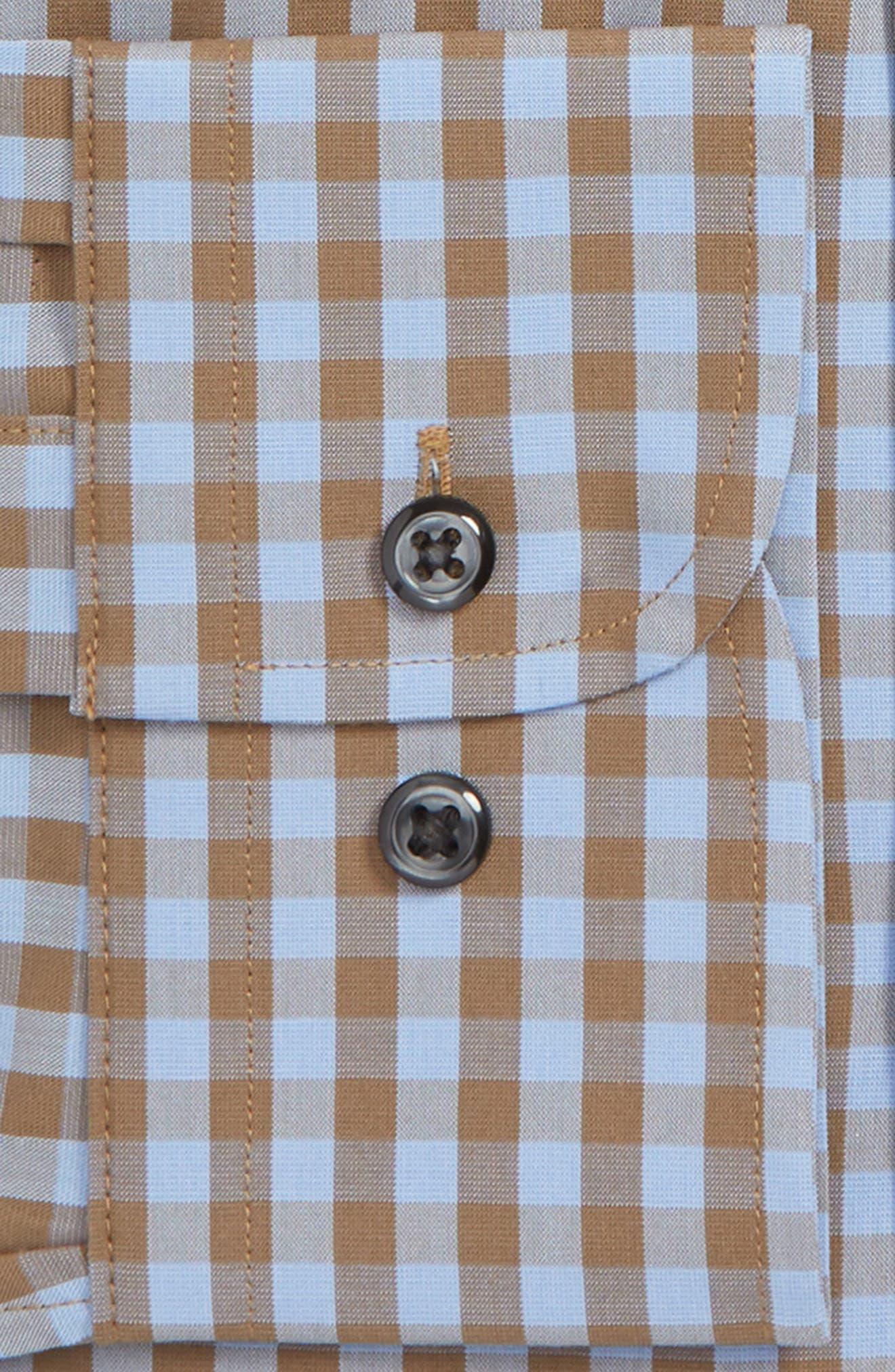 ,                             Tech-Smart Trim Fit Stretch Check Dress Shirt,                             Alternate thumbnail 14, color,                             210