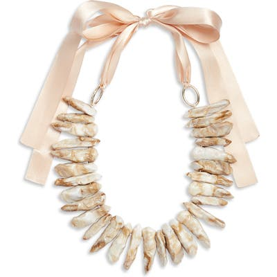 Knotty Statement Collar Necklace