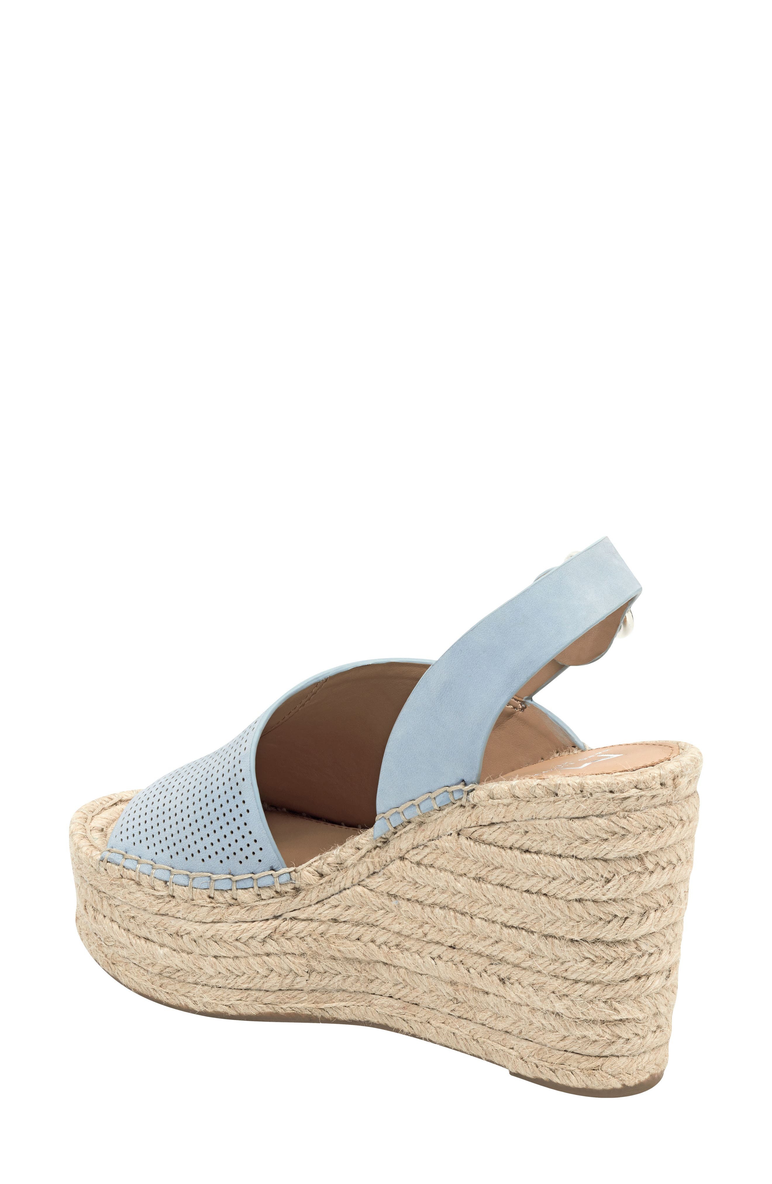 ,                             Andela Slingback Espadrille Wedge,                             Alternate thumbnail 2, color,                             LIGHT BLUE NUBUCK
