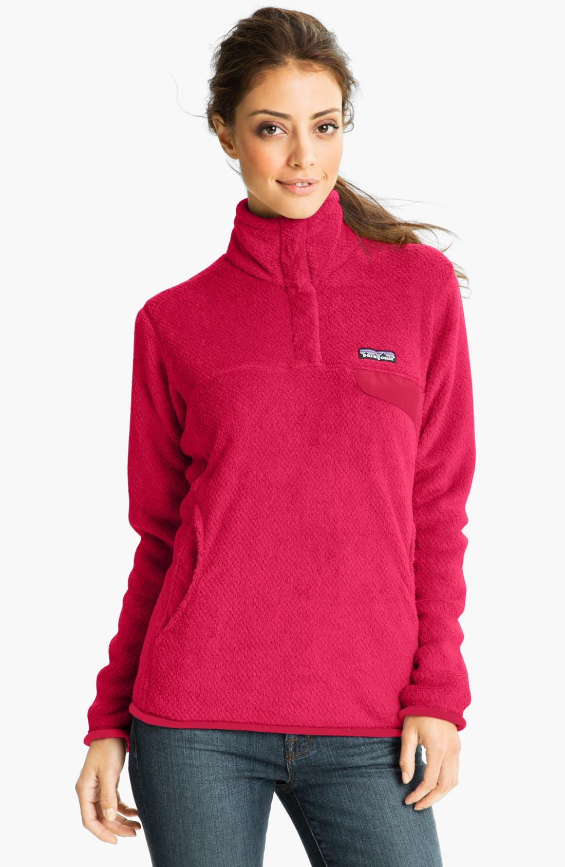 ,                             Re-Tool Snap-T<sup>®</sup> Fleece Pullover,                             Main thumbnail 191, color,                             652