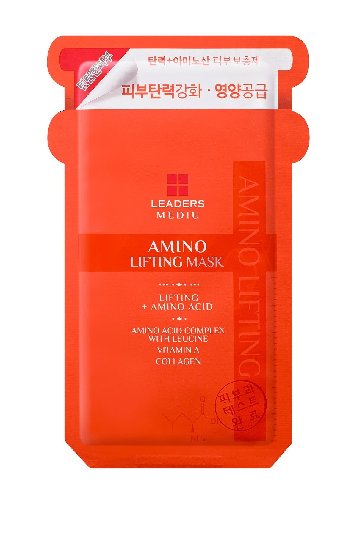 Image of Leaders Cosmetics Mediu Amino Lifting Mask - Pack of 10