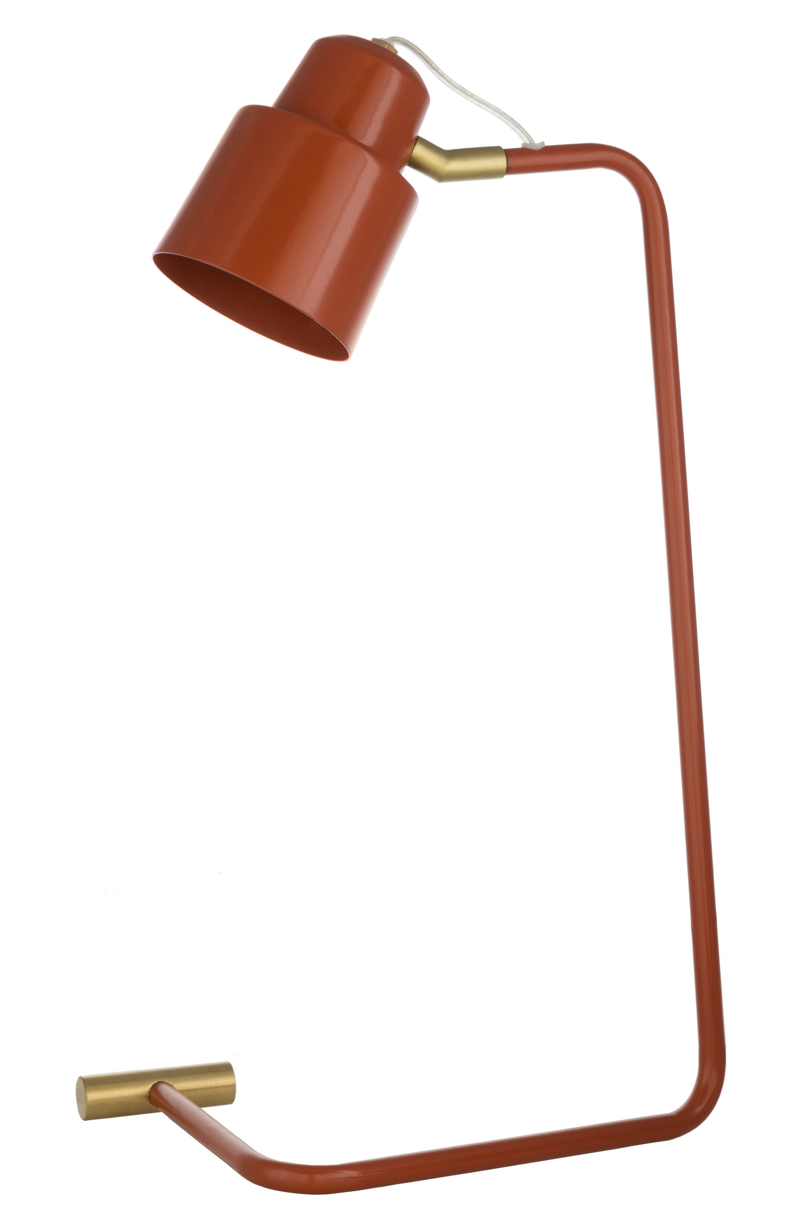 Surya Home Blaze Table Lamp Size One Size  Orange