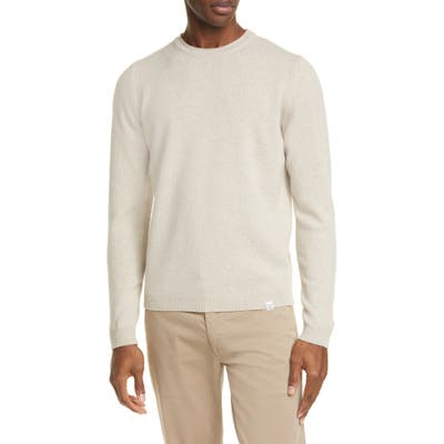 Norse Projects Sigfred Lambswool Sweater, Beige