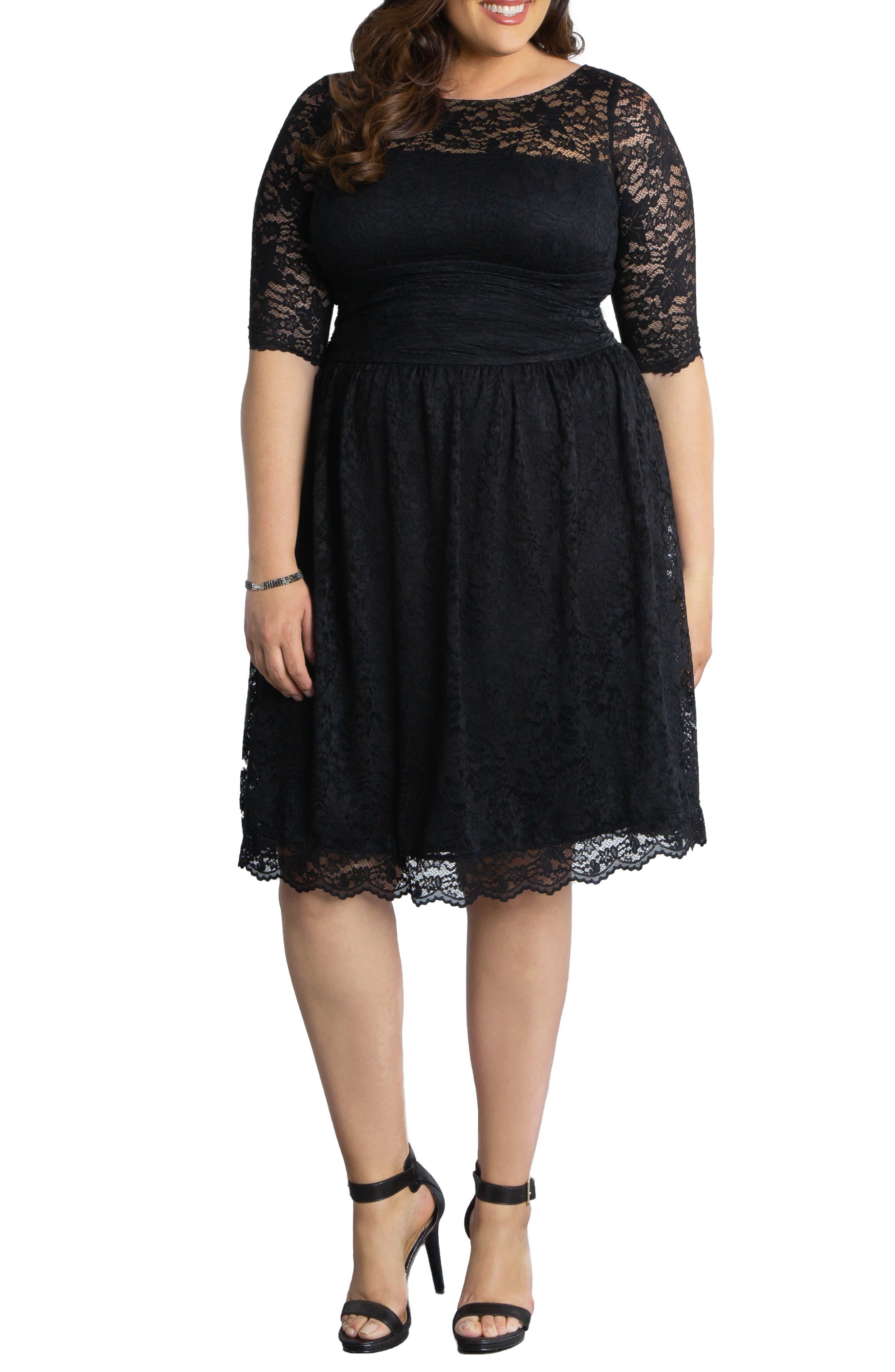 Luna Lace A-Line Dress