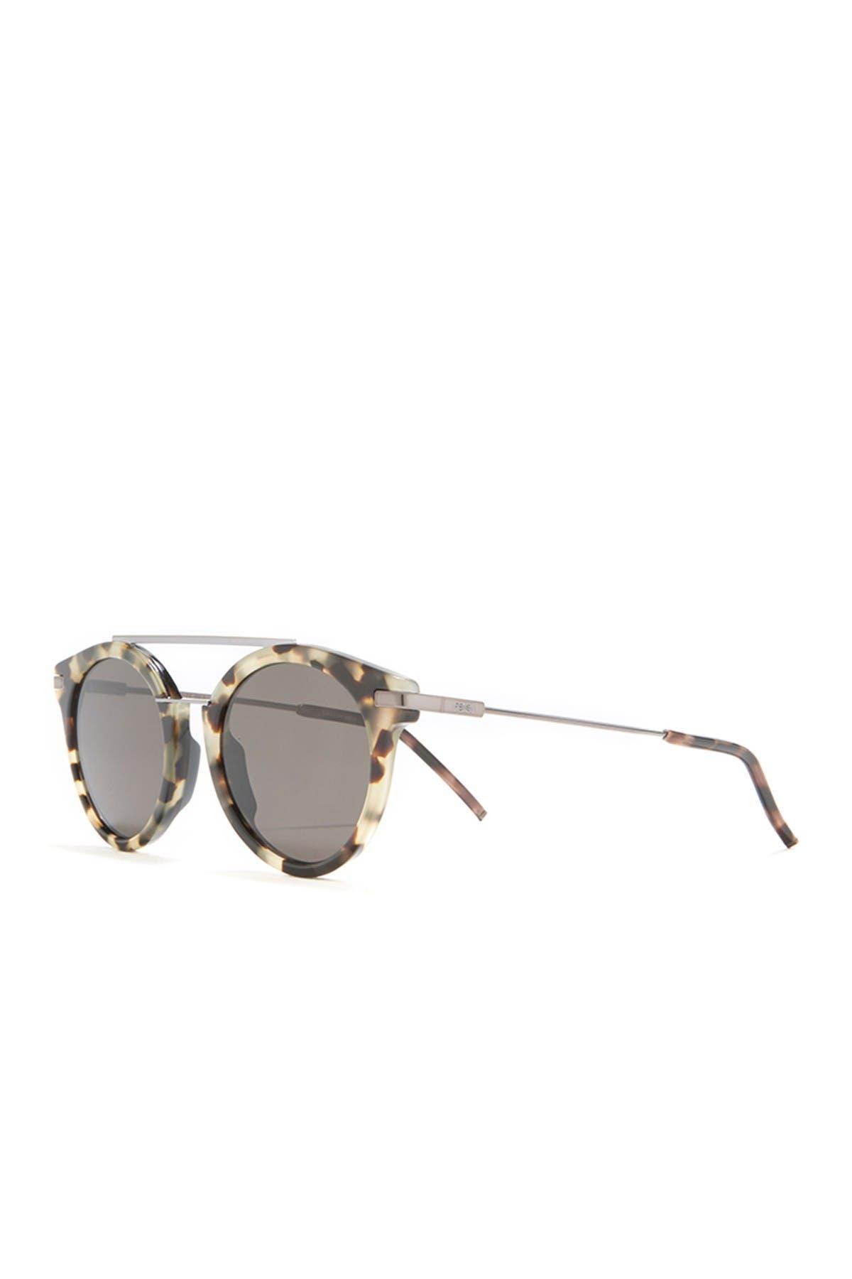 Image of FENDI 49mm Top Bar Sunglasses