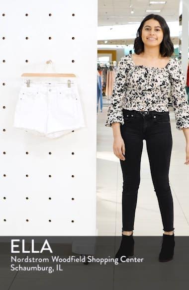Ozzie Cutoff Denim Shorts, sales video thumbnail