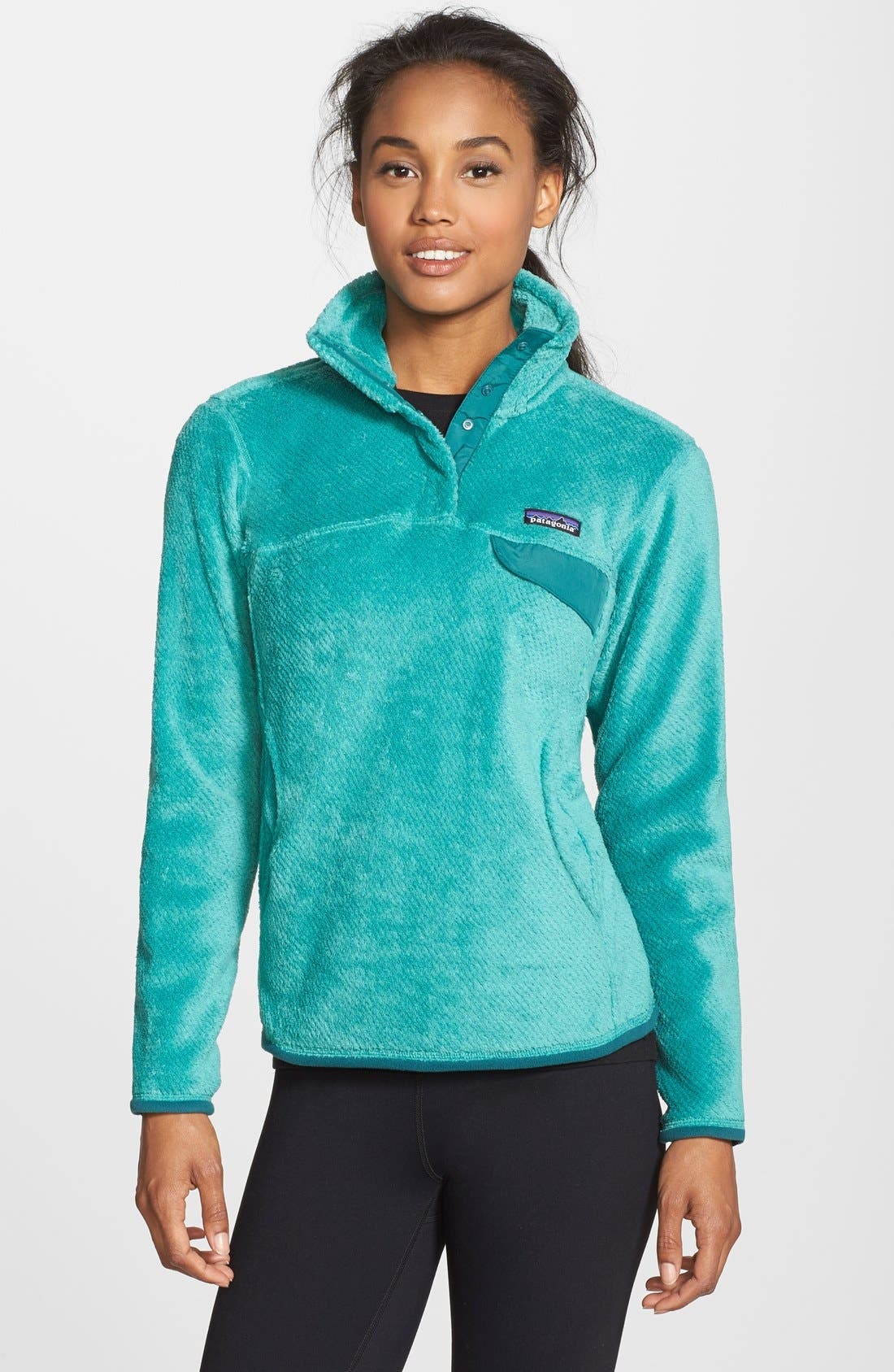 ,                             Re-Tool Snap-T<sup>®</sup> Fleece Pullover,                             Main thumbnail 123, color,                             404