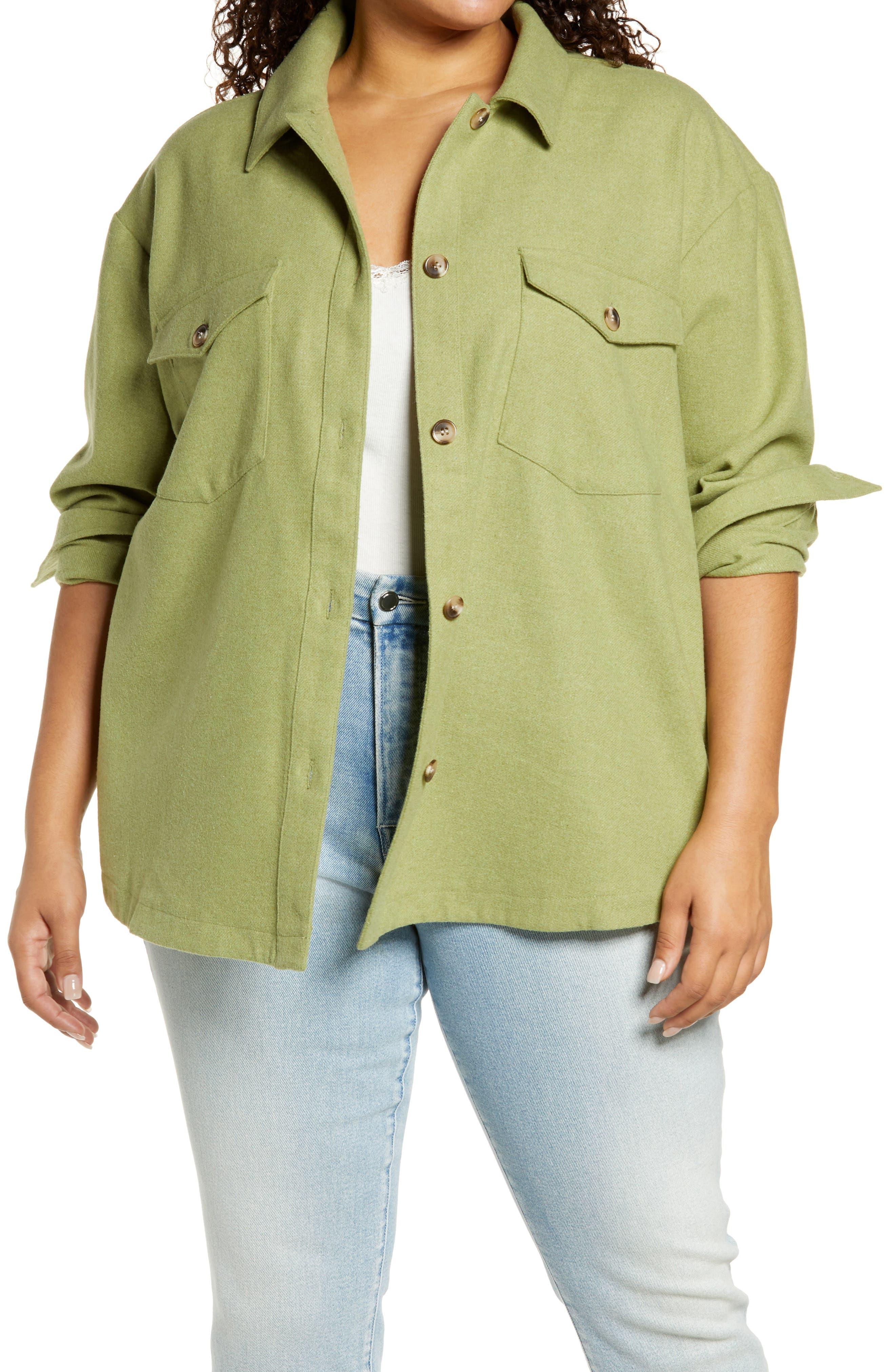 Plus Size Women Camouflage Tassel Jacket Coat Casual Single-breasted Outer Wear