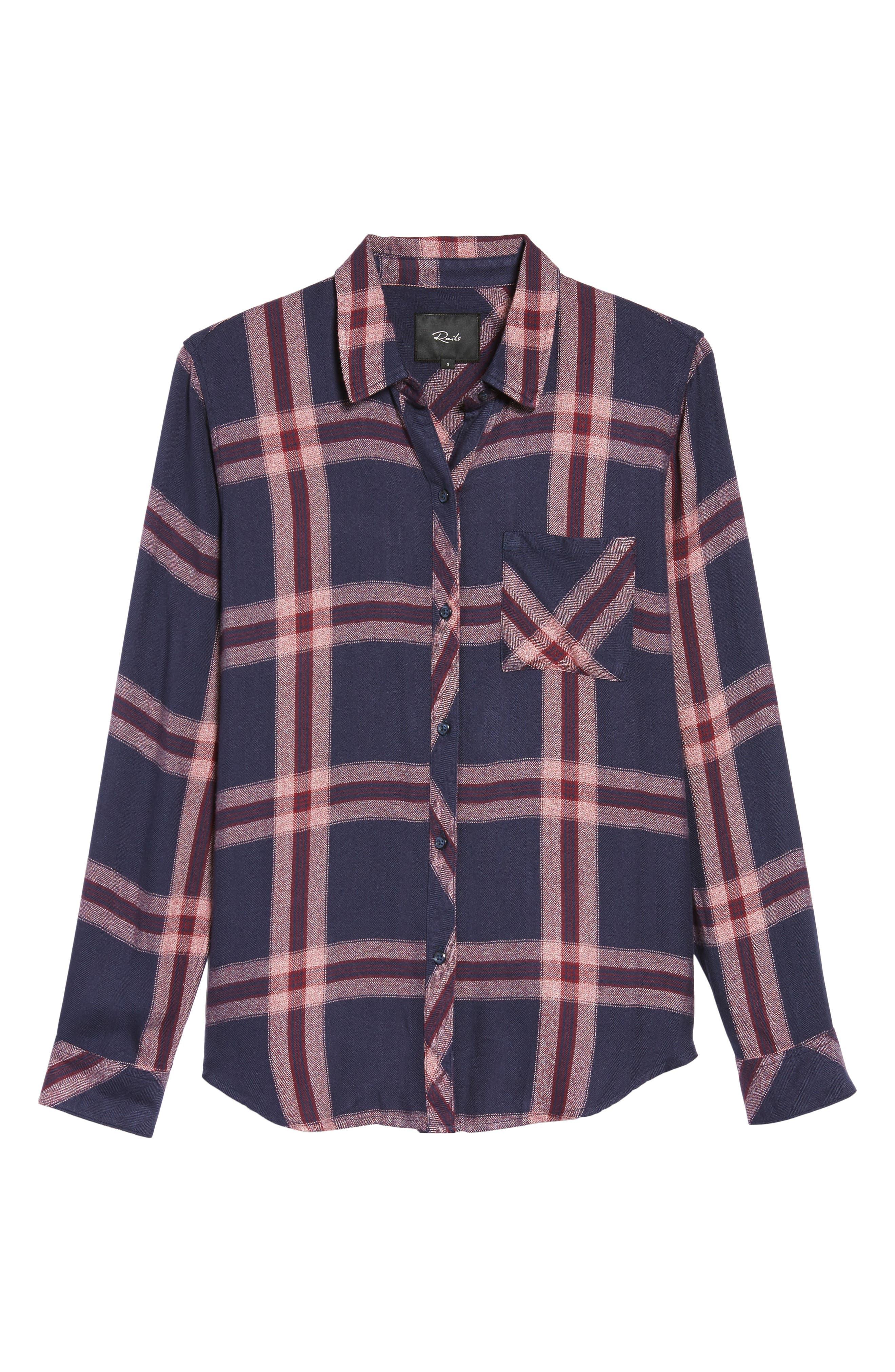 ,                             Hunter Plaid Shirt,                             Alternate thumbnail 718, color,                             400