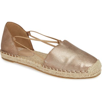 Eileen Fisher Lee Espadrille Flat, Metallic
