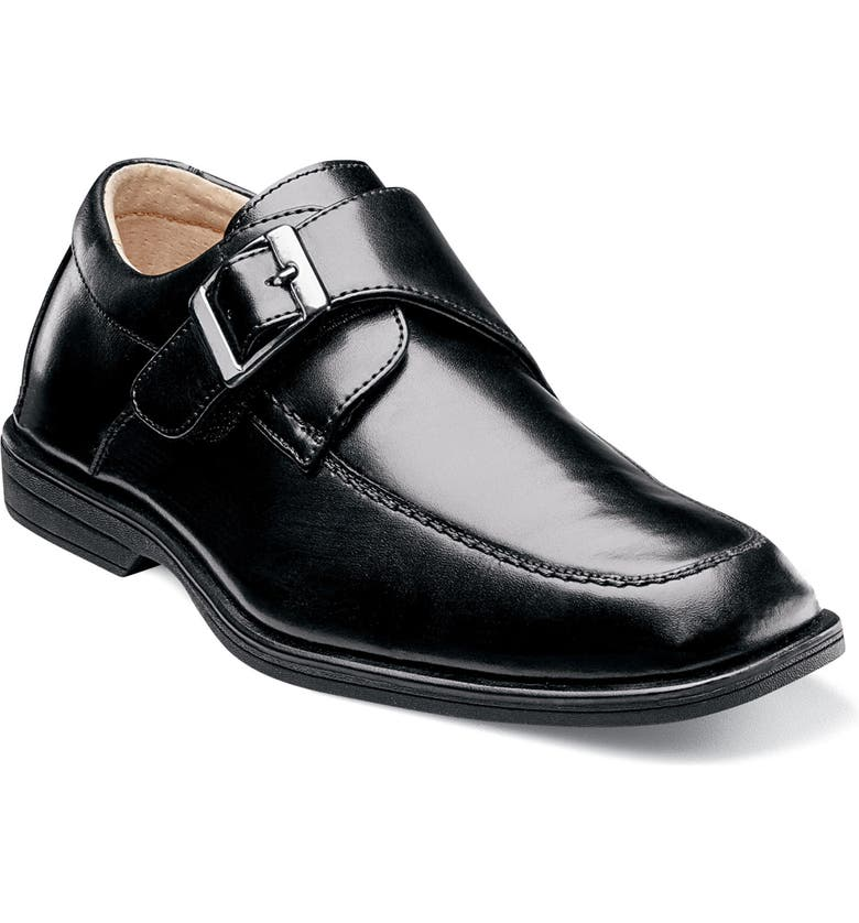FLORSHEIM 'Reveal' Monk Strap Slip-On, Main, color, 001
