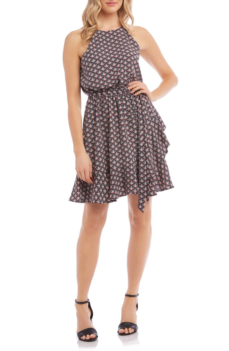 KAREN KANE Ruffle Sundress, Main, color, 600
