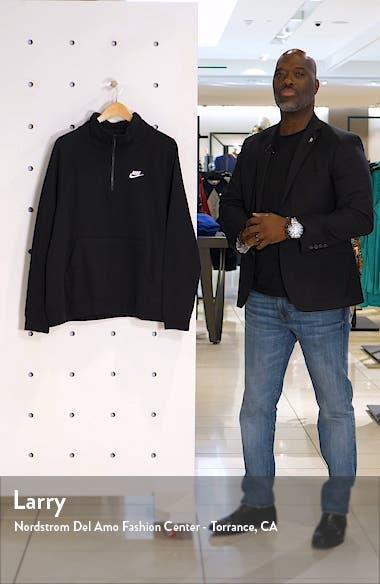 Sportswear Essential Quarter Zip Fleece Pullover, sales video thumbnail