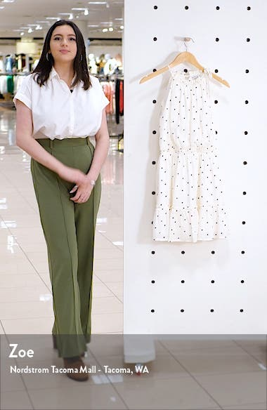 Sleeveless Ruffle Hem Minidress, sales video thumbnail