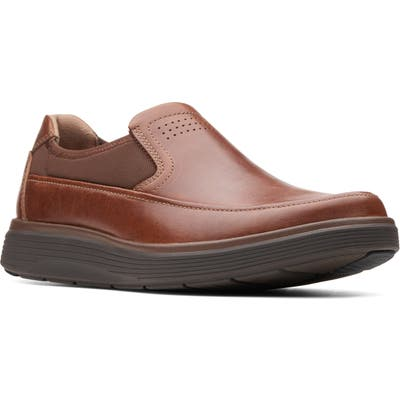 Clarks Un Abode Go Loafer, Brown