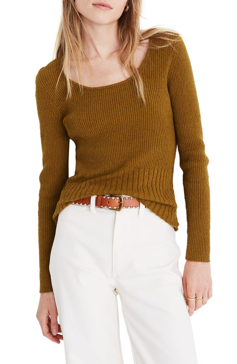 MADEWELL Stillman Pullover Sweater, Main, color, 300