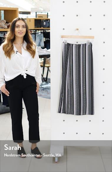 Slit Front Midi Skirt, sales video thumbnail