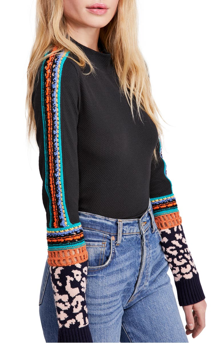 FREE PEOPLE Switch it Up Thermal Top, Main, color, 001