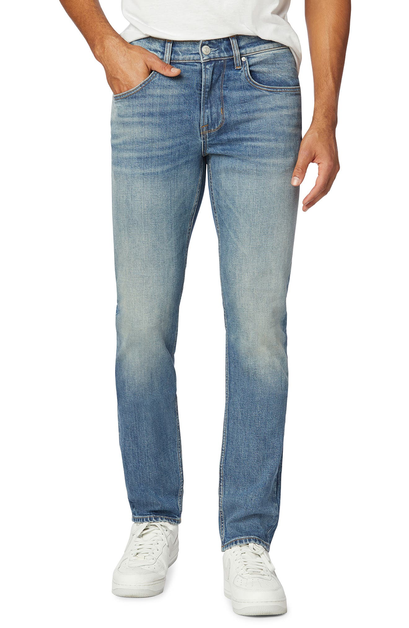 Blake Slim Straight Fit Stretch Jeans