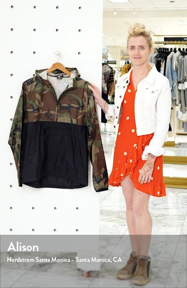 Camo Packable Hooded Anorak, sales video thumbnail