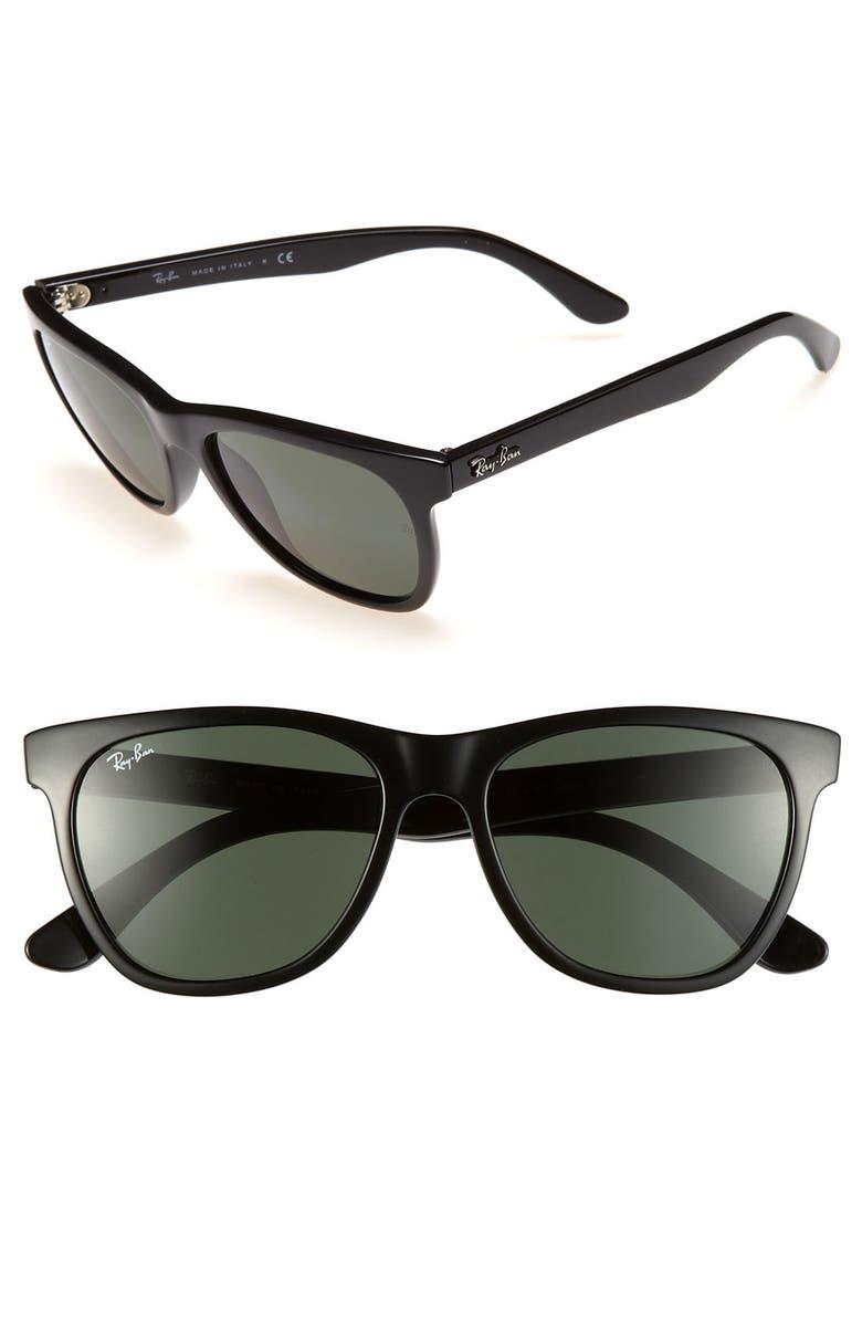 RAY-BAN 'High Street' 54mm Sunglasses, Main, color, 001