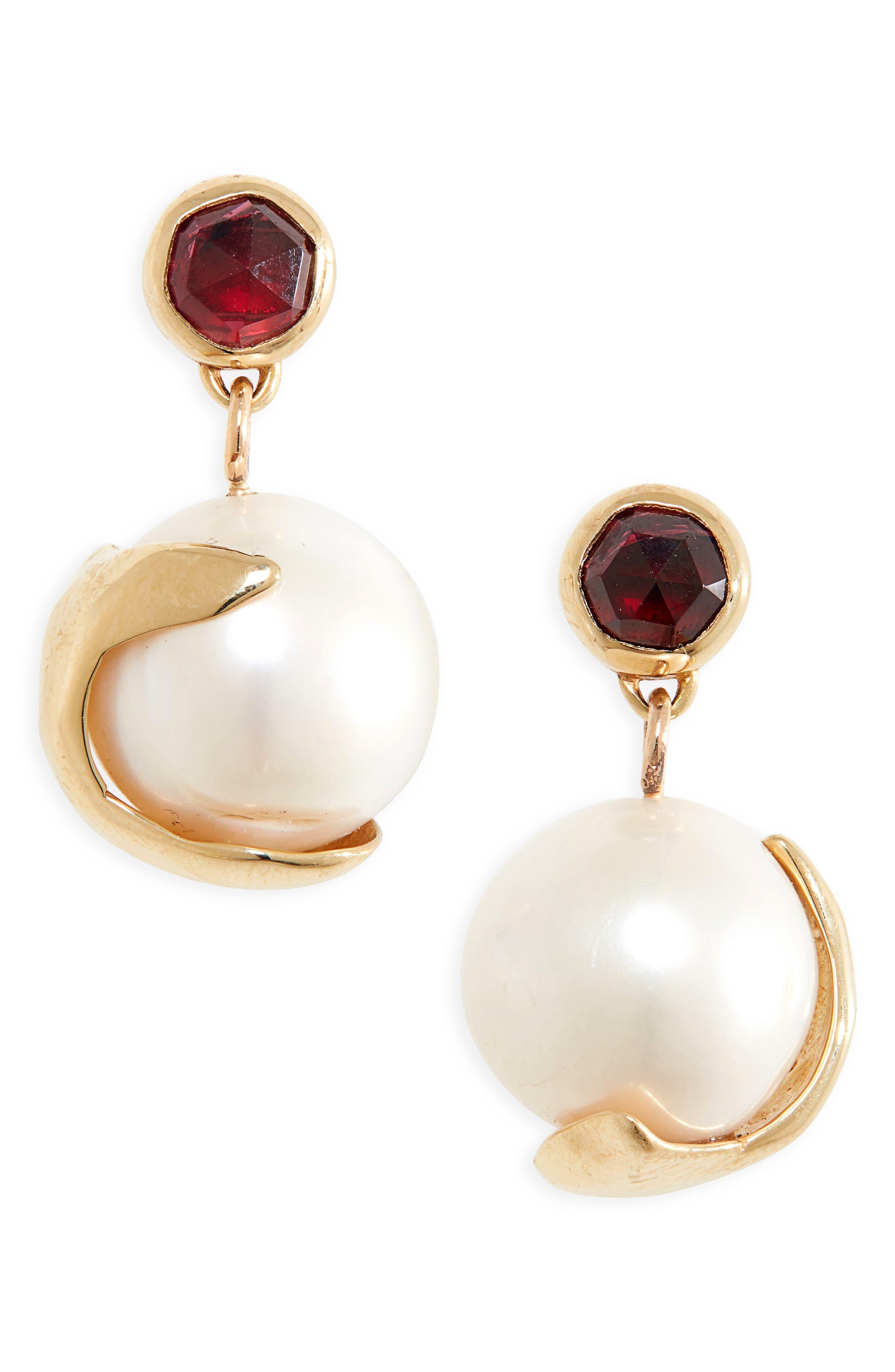 Pomme Pearl Drop Earrings
