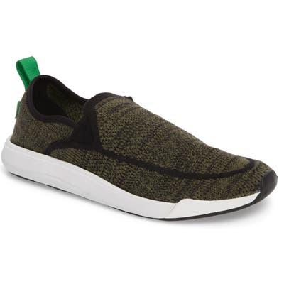 Sanuk Chiba Quest Knit Slip-On Sneaker, Green