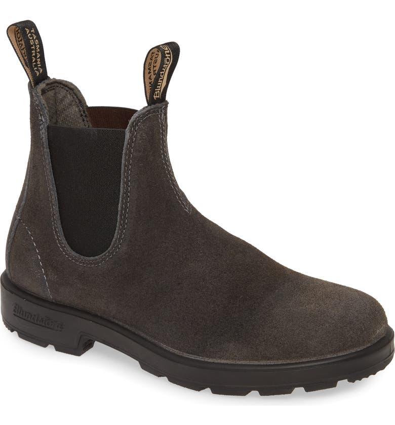 BLUNDSTONE FOOTWEAR Blundstone Original Series Chelsea Boot, Main, color, GREY