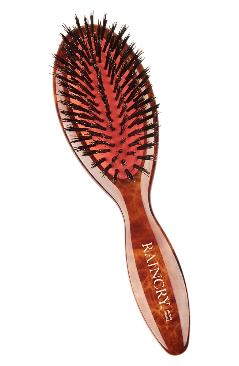 RAINCRY Condition Travel Pure Boar Bristle Brush, Main, color, 000