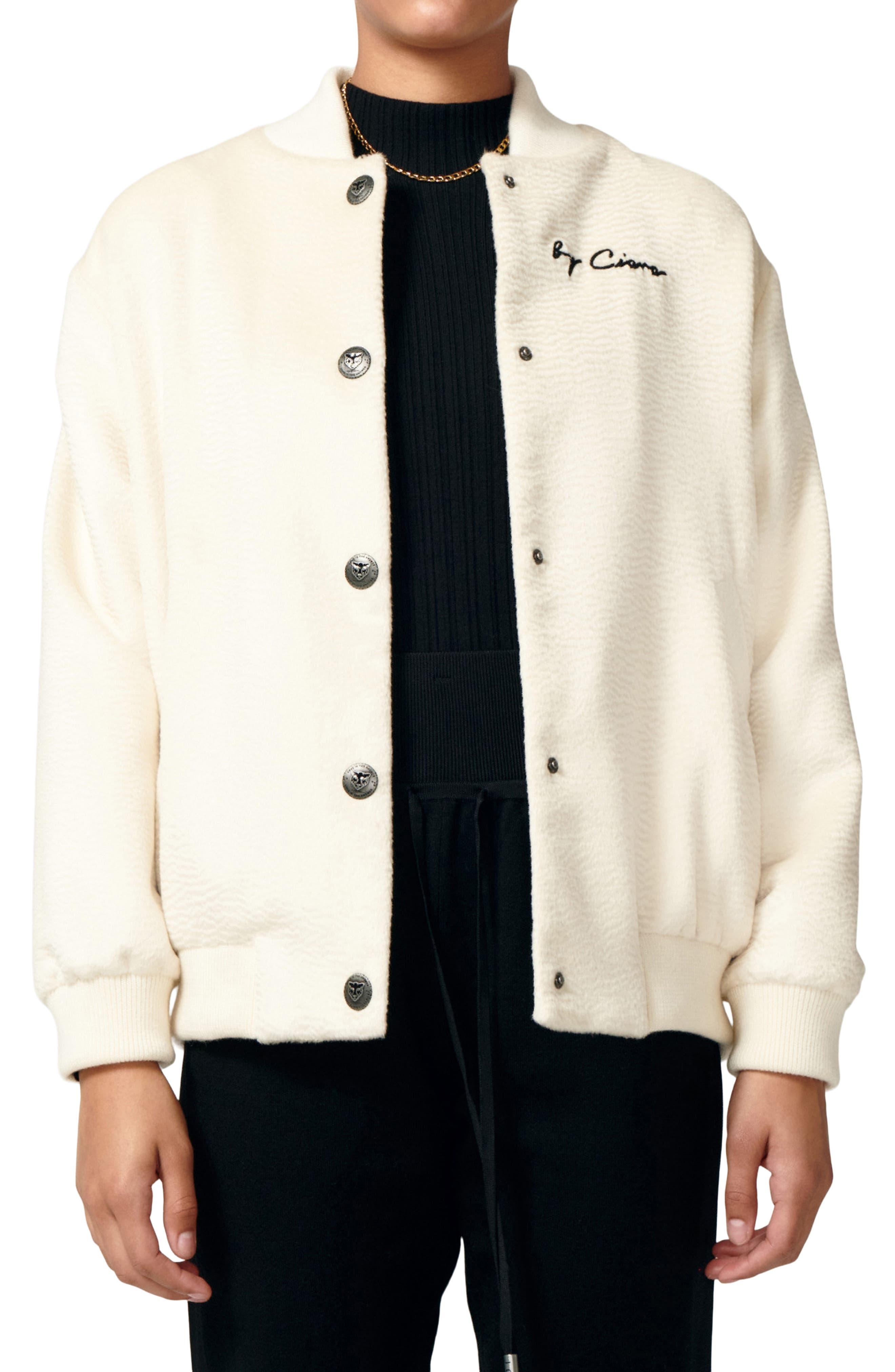 Applique Varsity Jacket