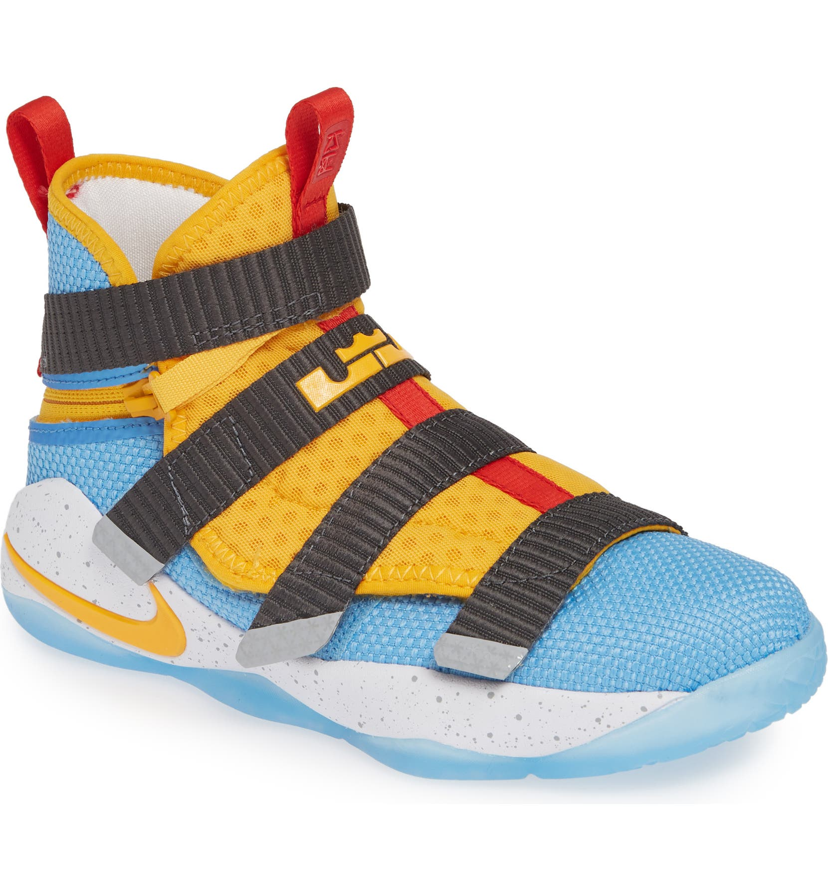 cheap for discount c1b1f 22b06 Nike LeBron Soldier XI FlyEase High Top Sneaker (Toddler, Little Kid & Big  Kid) | Nordstrom