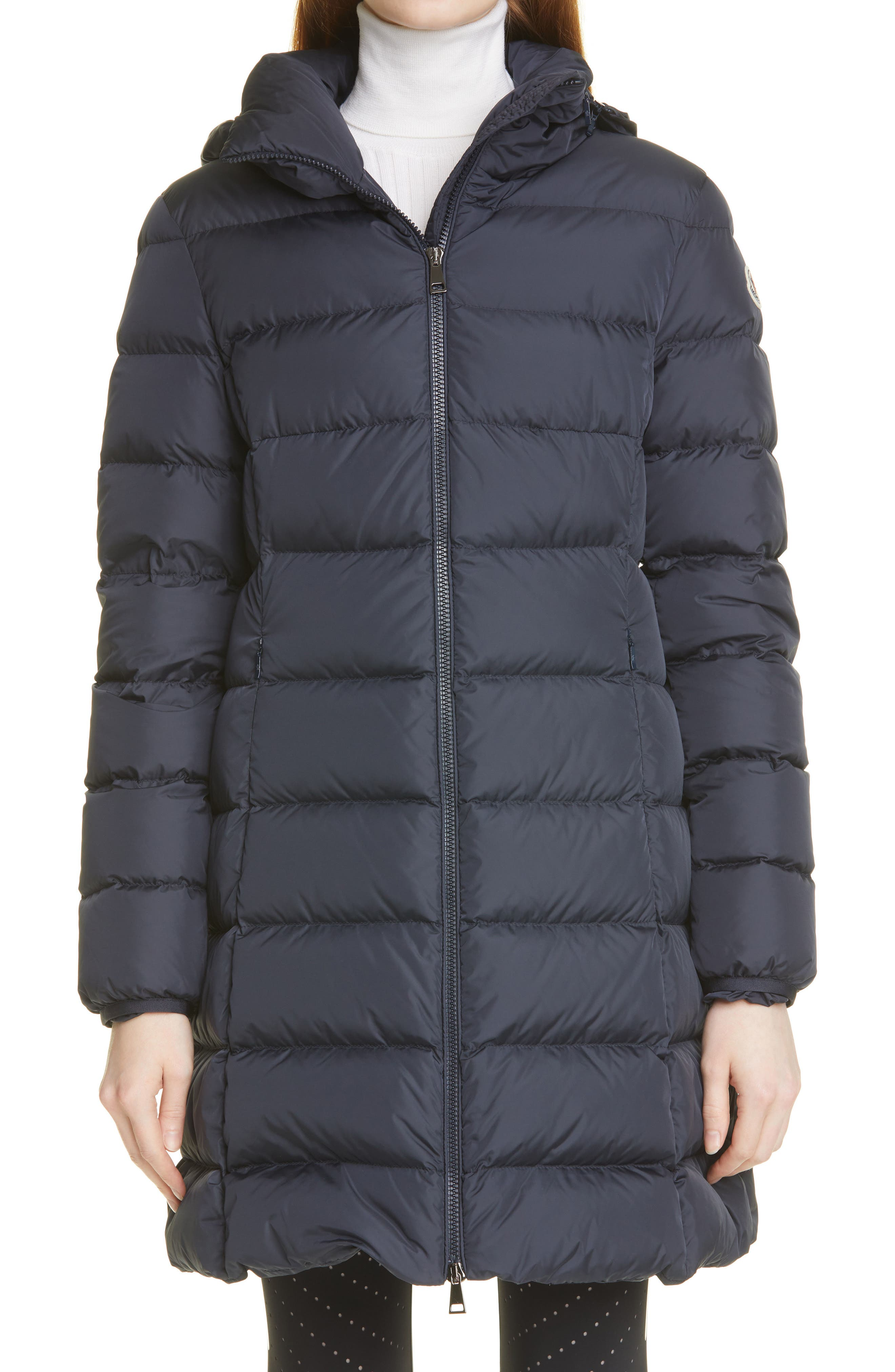 Women's Moncler Gie Water Resistant 750 Fill Power Down Puffer Coat
