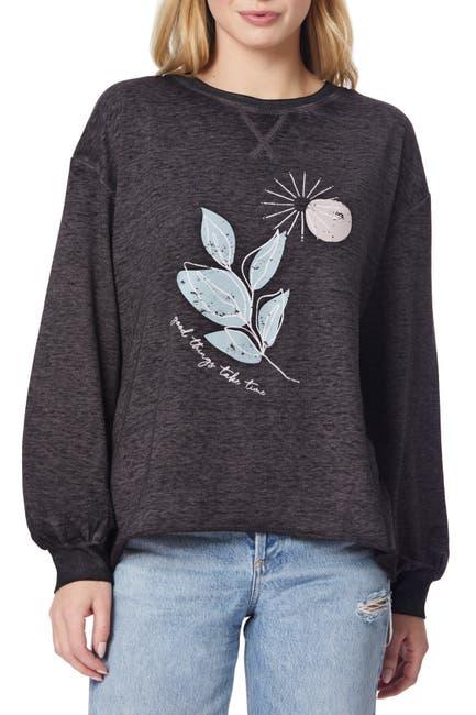 Image of C & C California Jessie Graphic Print Sweater