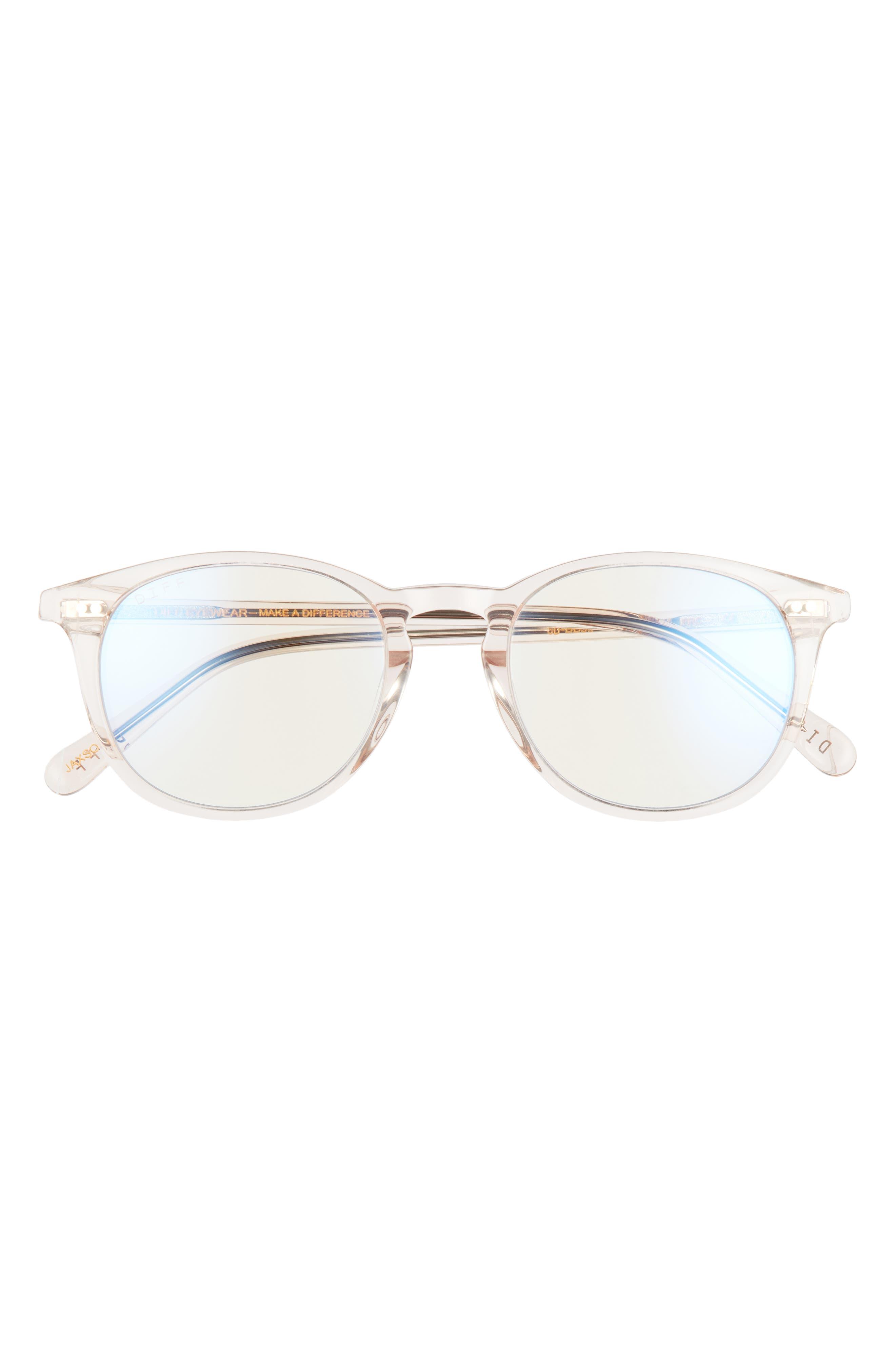 Jaxson 49mm Blue Light Blocking Glasses