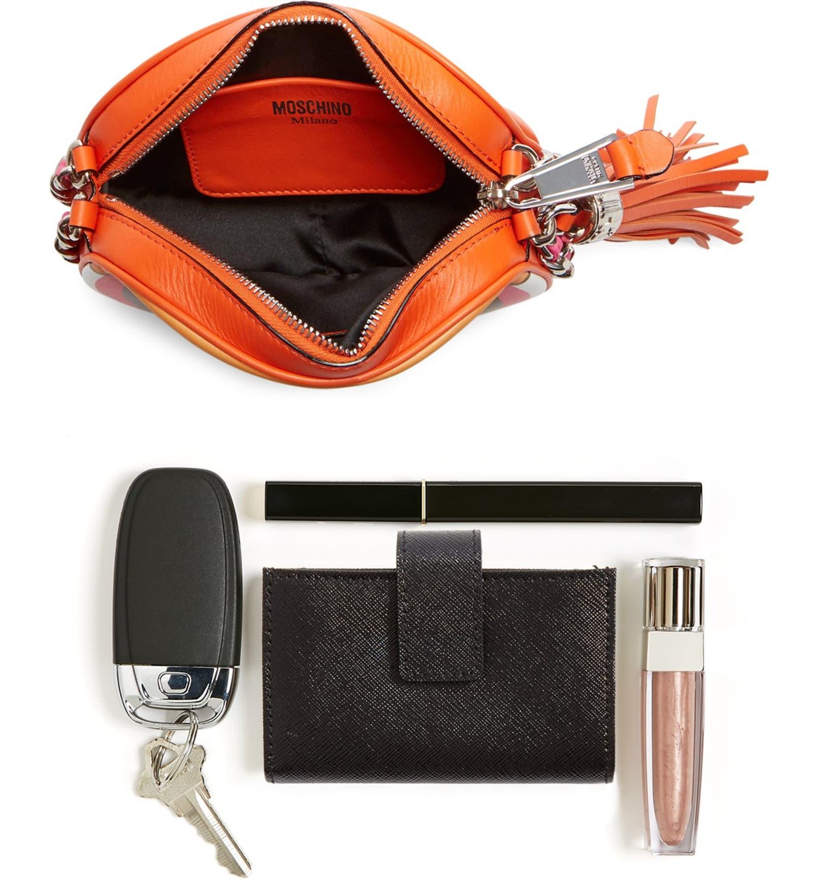 0fdb0bec7d Moschino 'The Powerpuff Girls® - Blossom' Canteen Crossbody Bag   Nordstrom