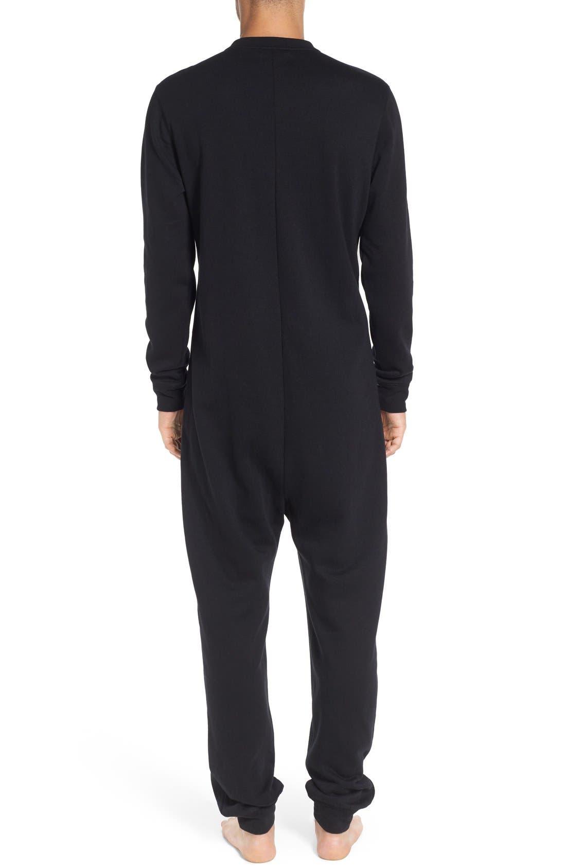 ,                             Fleece One-Piece Pajamas,                             Alternate thumbnail 24, color,                             001