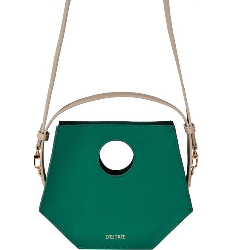 D'ESTRËE D'Estrëe Mini Joan Leather Crossbody Bag, Main, color, 300