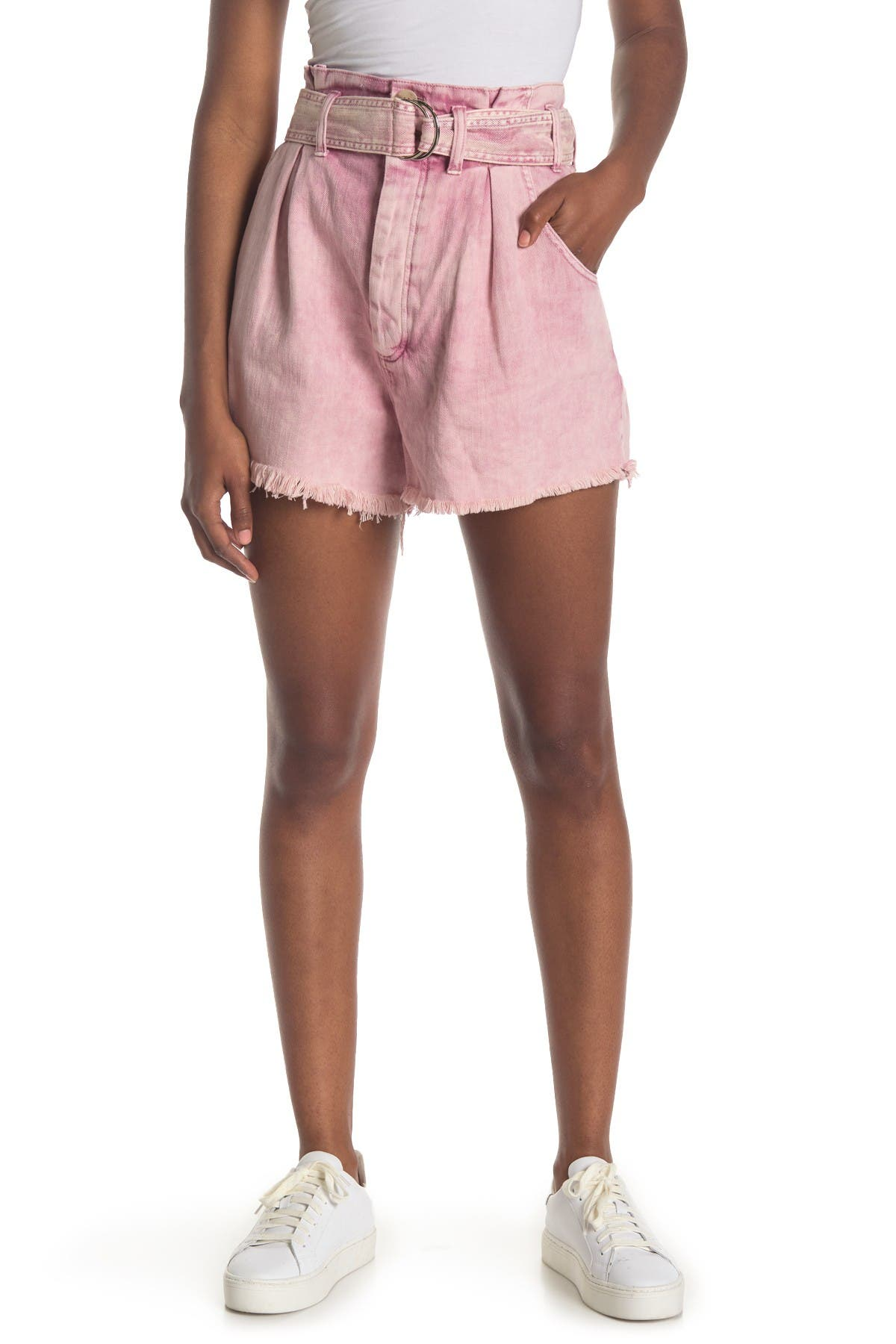 Image of Free People See You Sometime Cut-Off Shorts