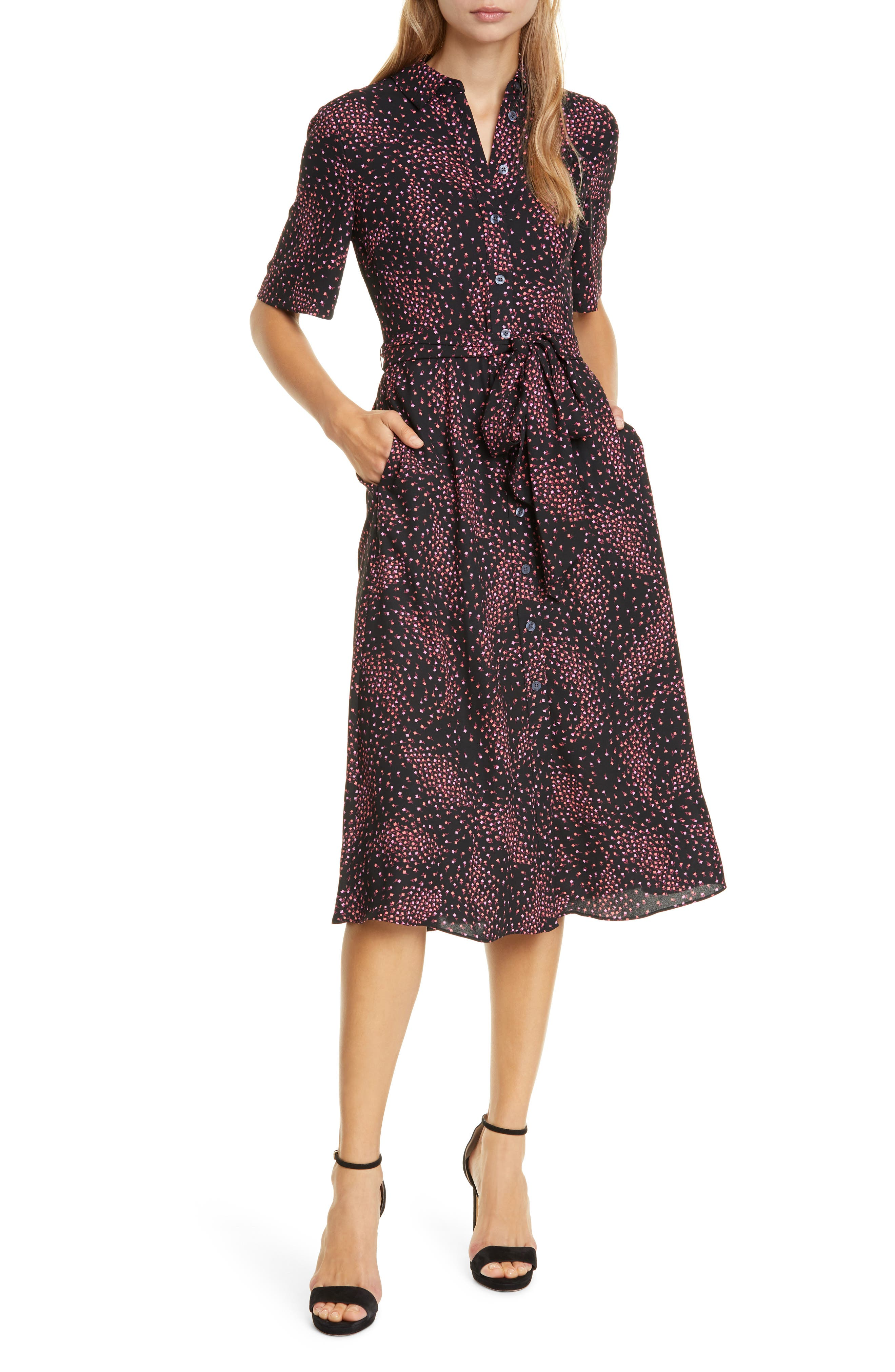 Kate Spade New York Dresses meadow smocked back shirtdress