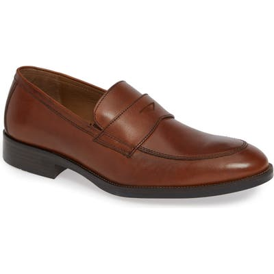 Johnston & Murphy Alcott Penny Loafer- Brown